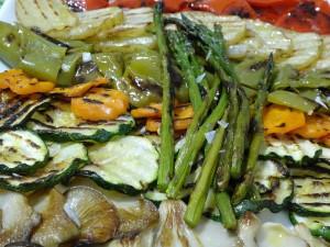 Viajando por tierras aragonesas for Parrillada verduras