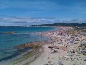 Playa de A Lanzada (Galicia)