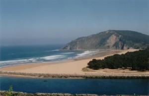 Playa de Rodiles (Asturias)